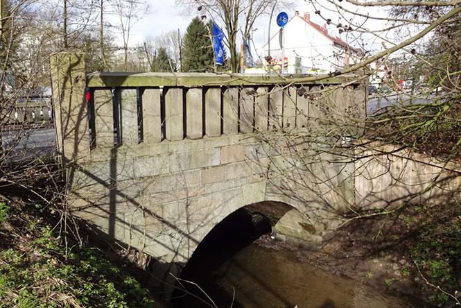 Kieler Straße – Brücke über die Mühlenau