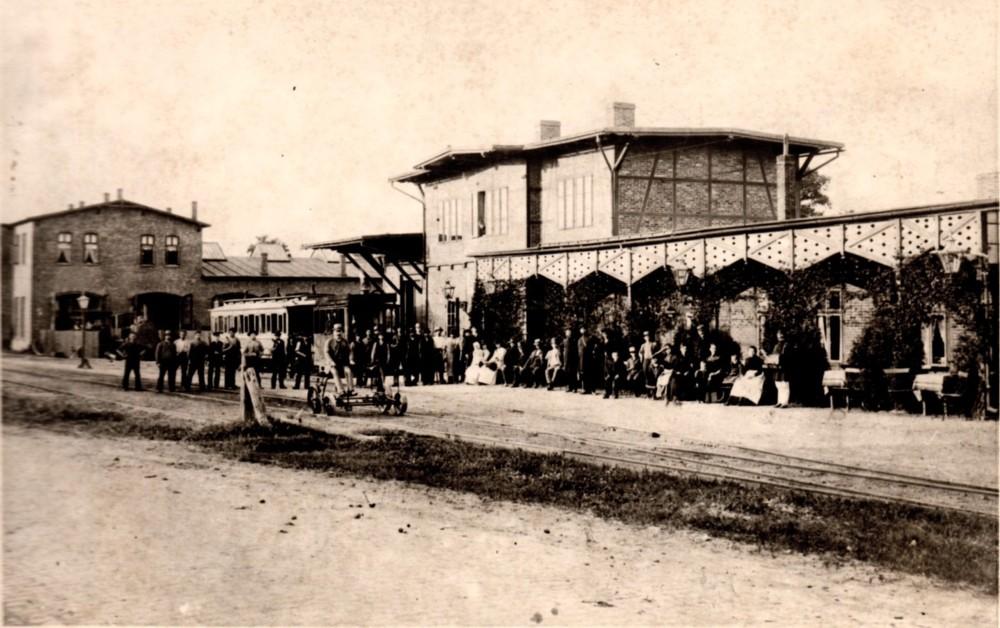 Station und Bahnbetriebswerrk der AKN am Eidelstedter Platz