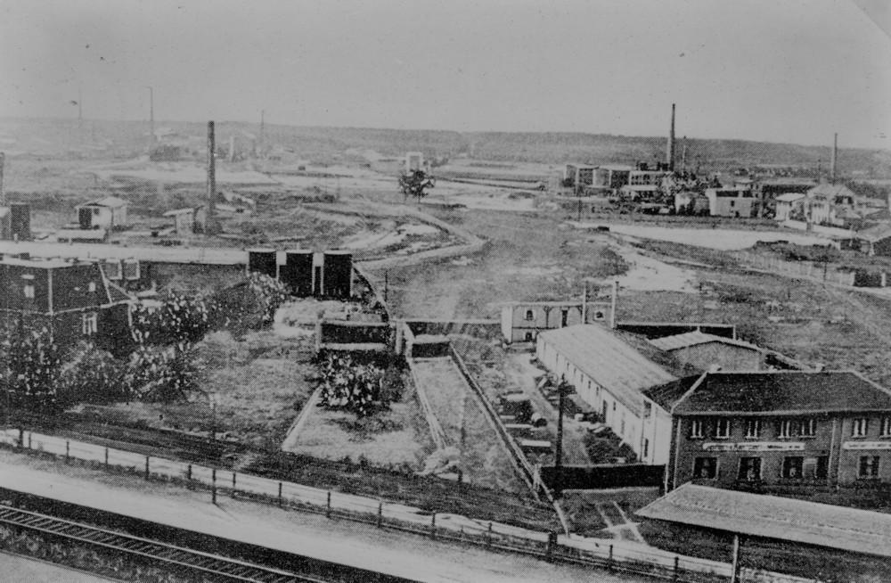 Industriegebiet südlich der Bahnlinie