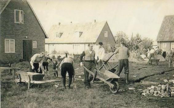 Aufbruchstimmung in der Lohkamp-Siedlung 1953